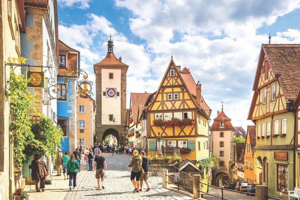 Alsace - Romantik Yol Almanya Turu