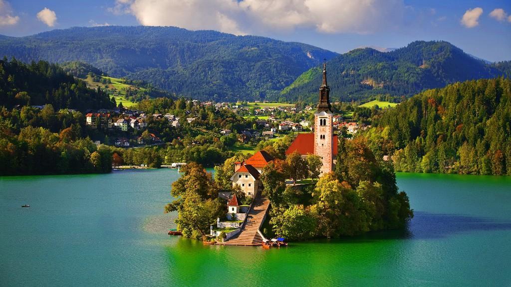 Slovenya - Avusturya - Almanya - İsviçre - Fransa Turu