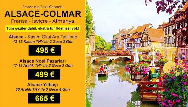 Alsace Özel Dönem Turları