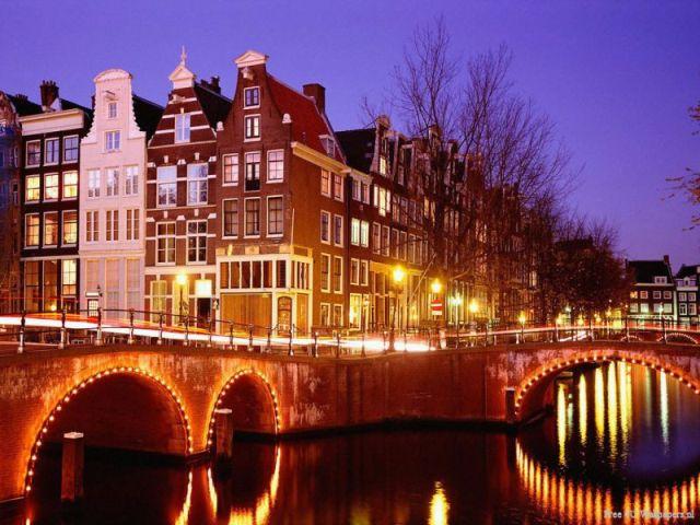 Benelux - Paris - Romantik Almanya Turu Amsterdam, Hollanda