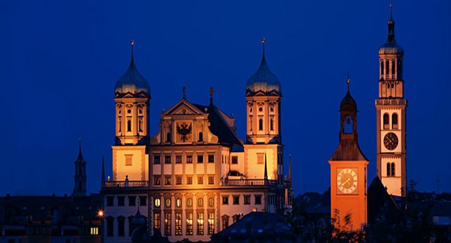Benelux - Paris - Romantik Almanya Turu Augsburg