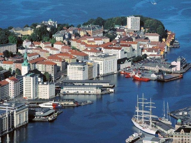 İskandinavya - Fiyordlar Turu Bergen, Norveç