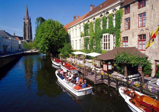 Benelux - Brugge - Paris Turu Brugge (Zeebrugge), Belçika
