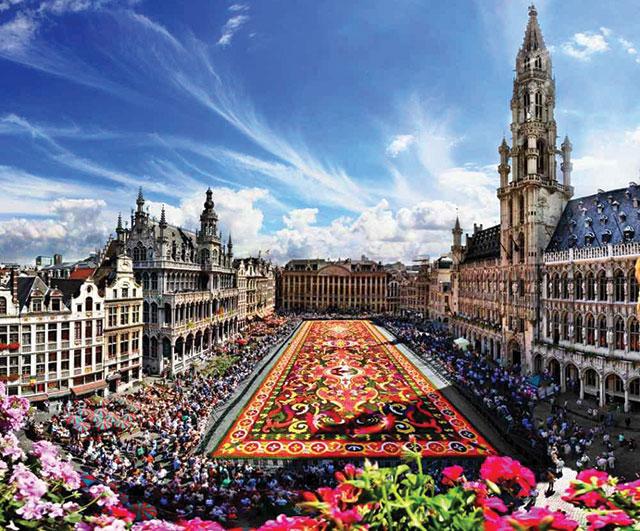 Benelux - Paris - Romantik Almanya Turu Brüksel