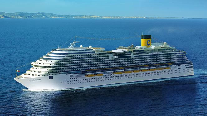 Costa Diadema ile Batı Akdeniz Turu Costa Diadema Gemisi