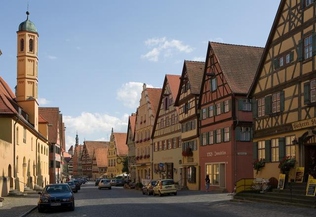 Almanya - Romantik Yol Turu Dinkelsbühl