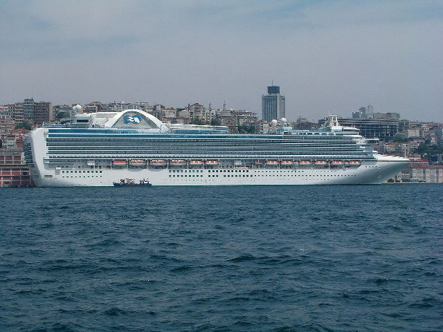 Emerald Princess ile Batı Akdeniz Turu Emerald Princess Gemisi