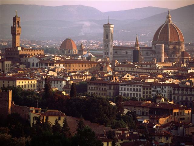 Büyük İtalya Turu Floransa