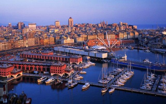 İsviçre - Fransa - İtalya Turu Cenova