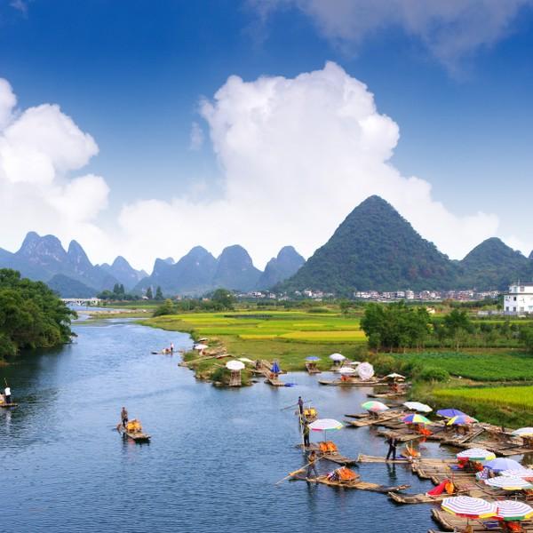 Çin Turu Guilin, Çin