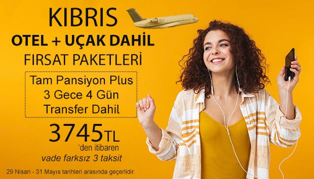 Kıbrıs Uçaklı Paket Fırsatları