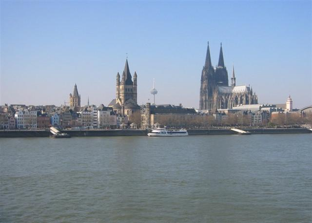 Benelux - Paris - Romantik Almanya Turu Köln