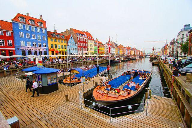 İskandinavya Turu Kopenhag, Danimarka
