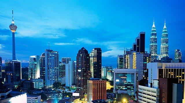 Kuala Lumpur - Bangkok - Hong Kong - Singapur Turu Kuala Lumpur
