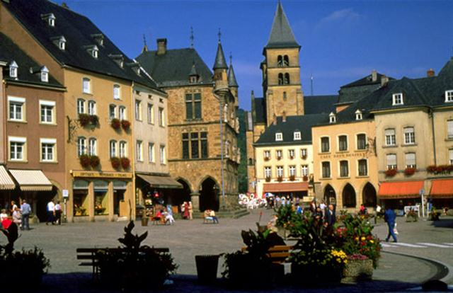 Benelux - Brugge - Paris Turu Lüksemburg