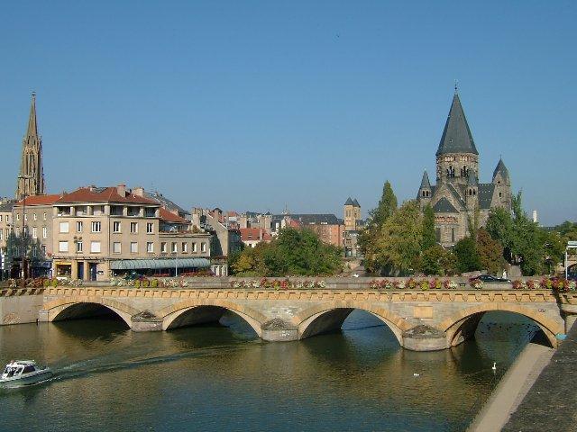 Muhteşem Avrupa - Prag & Romantik Yol & Alsace & Paris Turu Metz, Fransa
