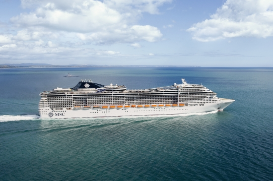 MSC Divina ile Akdeniz Turu MSC Divina Gemisi