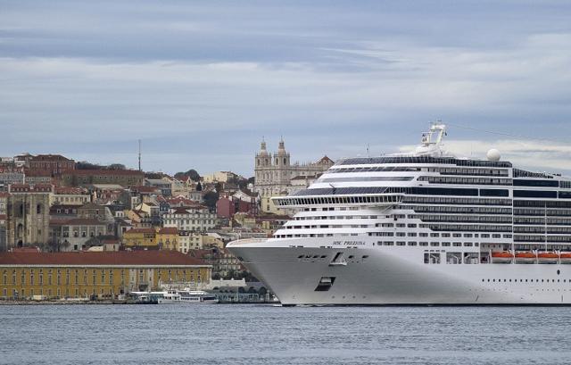 MSC Preziosa ile Akdeniz Turu MSC Preziosa Gemisi