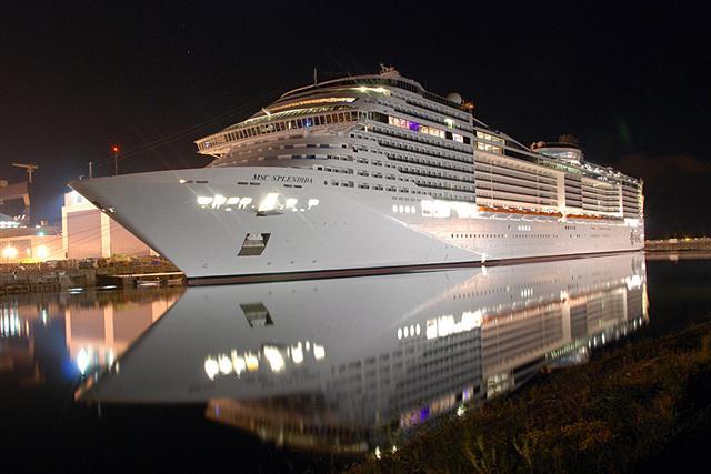 MSC Splendida ile Kuzey Avrupa Turu MSC Splendida Gemisi