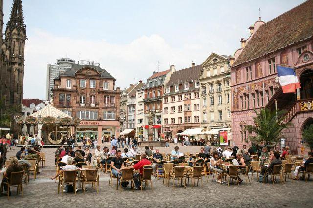 Muhteşem Avrupa - Prag & Romantik Yol & Alsace & Paris Turu Mulhouse, Fransa