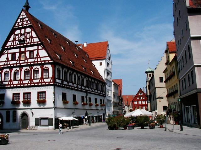 Almanya - Romantik Yol Turu Nordlingen