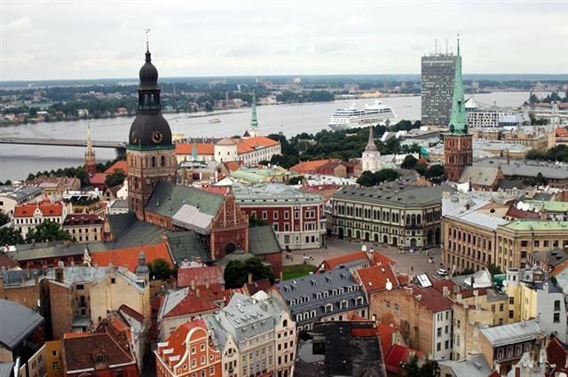 Riga Turu Riga, Letonya