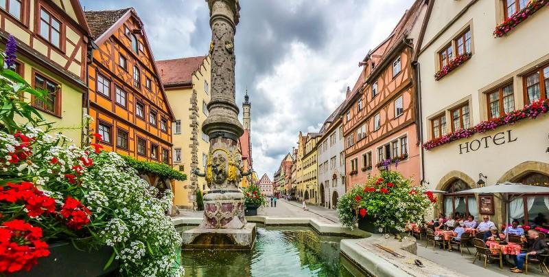 Benelux - Paris - Romantik Almanya Turu Rothenburg