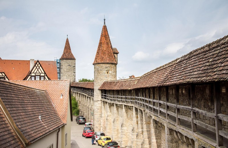 Muhteşem Avrupa - Prag & Romantik Yol & Alsace & Paris Turu Rothenburg
