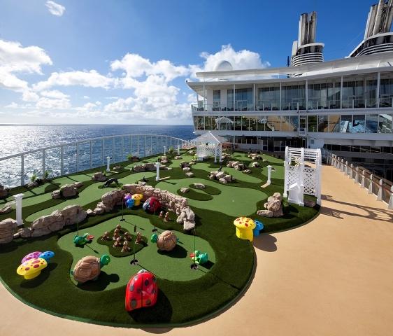Royal Caribbean Allure of the Seas ile Kısa Akdeniz Turu Royal Caribbean Allure of the Seas Gemisi