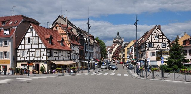 Muhteşem Avrupa - Prag & Romantik Yol & Alsace & Paris Turu Selestat, Fransa