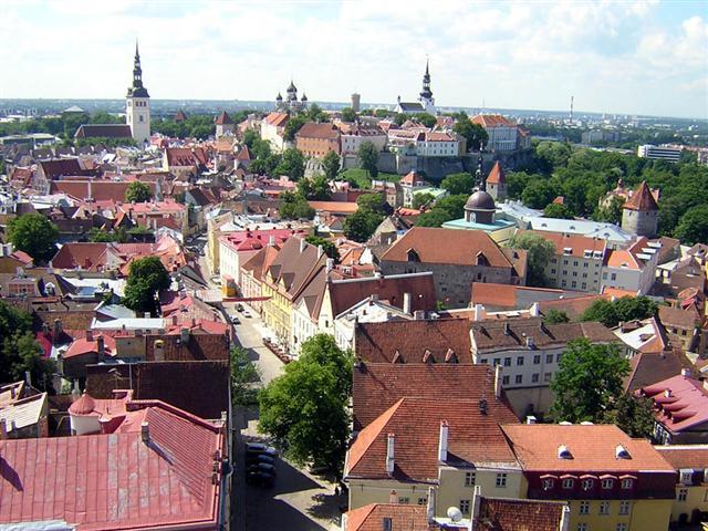 Baltık Başkentleri Turu Tallin, Estonya